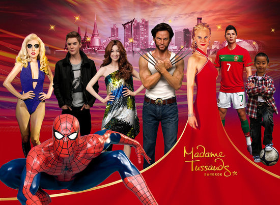 Image result for madame tussauds bangkok