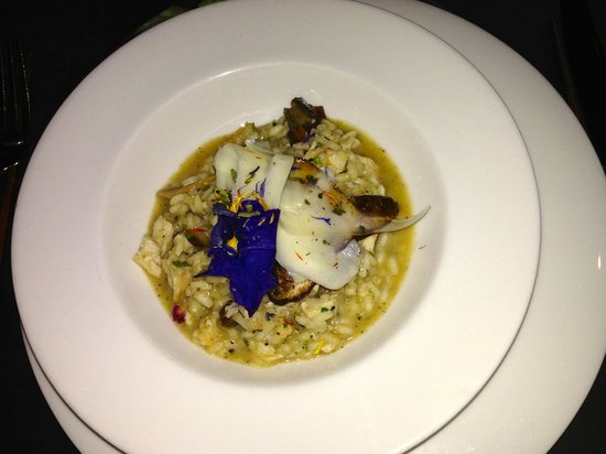 Punchinello's Restaurant : Wild Mushroom risotto - incredible! Was lost in the food after this and took no more photos!