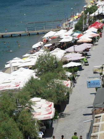 Golden Star City Resort: Il lungomare