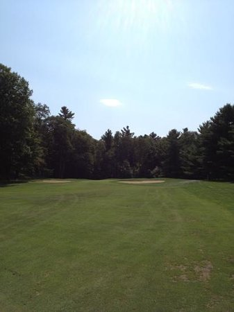 Basin Harbor: 4th hole of BHC golf course