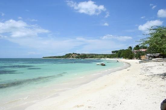 Villa Rosa: la plage...