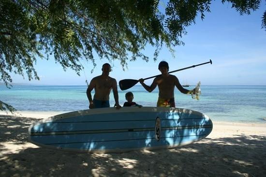 Villa Rosa: snorkelling en paddle....