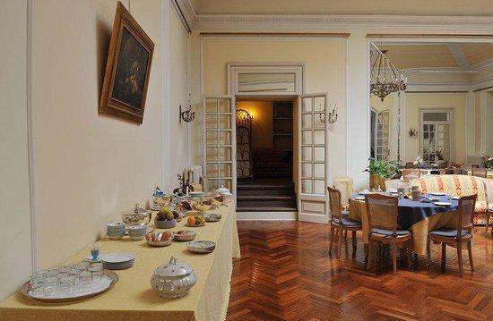 Grande Albergo Quattro Stagioni : Breakfast Room