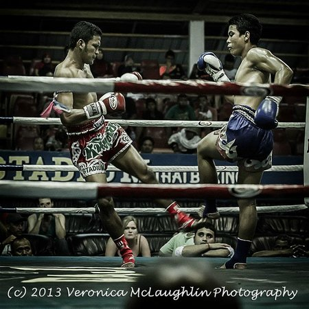 Ao Nang Krabi Thai Boxing Stadium: adult fighters - more finesse, more power, not quite as much fun