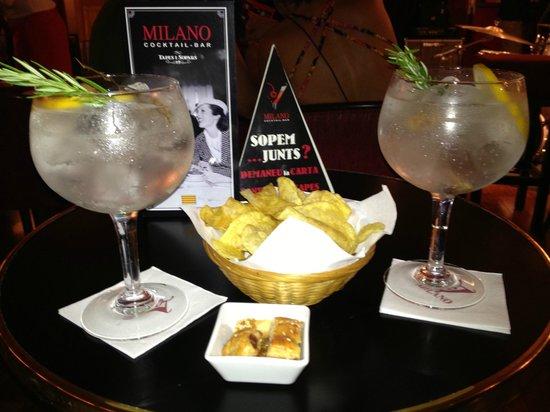 Milano Cocktail Bar: Cocktail en Milano