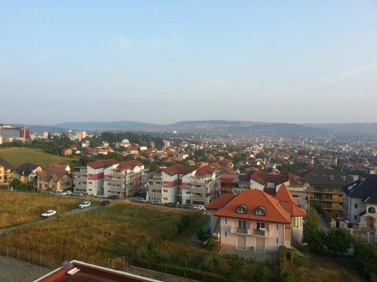 Grand Hotel Italia: cluj in the morning. view from 5th floor.