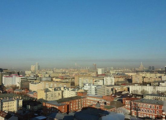 Novotel Moscow Centre: vue d'une chambre dans les étages du haut
