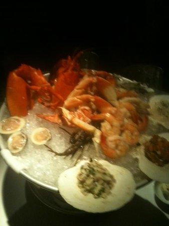 Farallon : Fresh Seafood Platter
