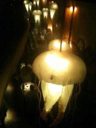 Farallon : Jellyfish lighting fixtures