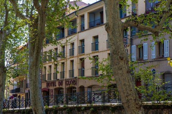 Hotel du Globe : Façade de l'Hôtel du Globe, Cours sextius