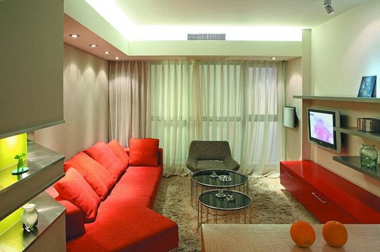 Seasons Park Ruizhi Service Apartment: Sitting Room Of One Bedroom Superior