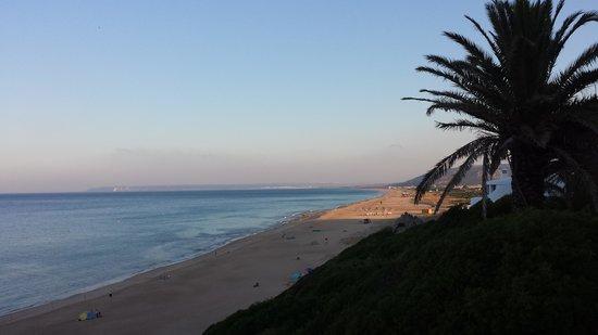 Hotel Atlantico: playa