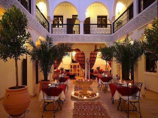 Riad Shaloma: Restaurant