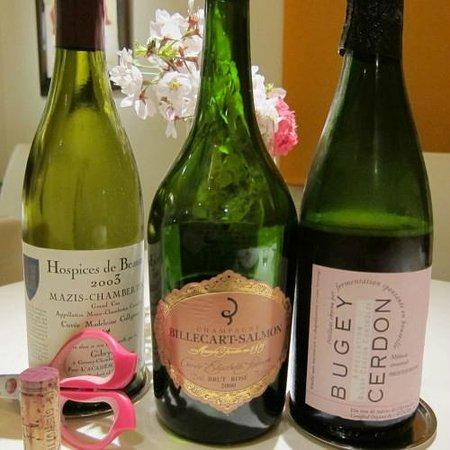 La Maison Courtine: Trio for the cherry blossom dinner