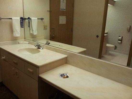 Shilo Inn Suites Hotel - Portland Airport: Dressing area