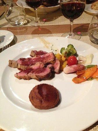 Hôtel Restaurant la Corniche : le fameux veau tigré