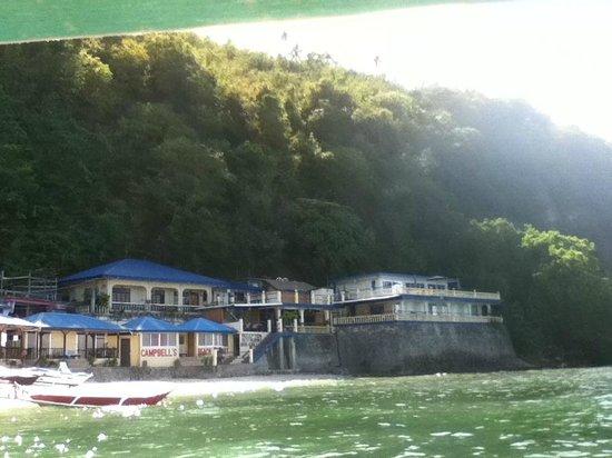 Campbell's Beach Resort : resort view