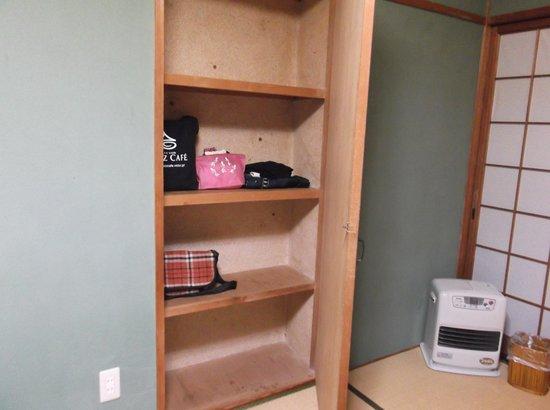 Kannawa Yunoka : 客室の収納