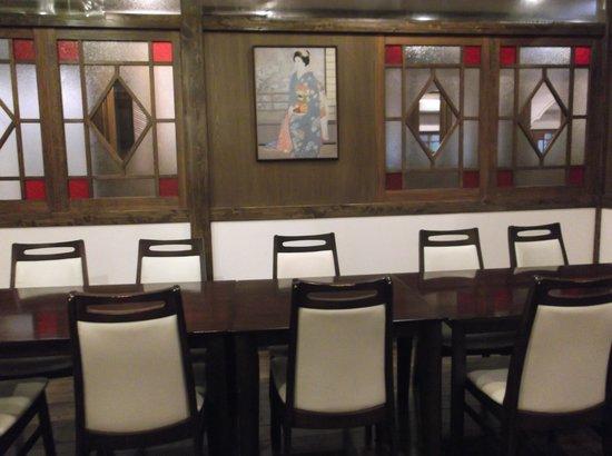 Kannawa Yunoka : 食堂も素敵です