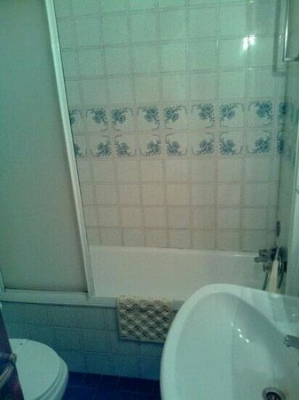 Hotel Peninsular: baño