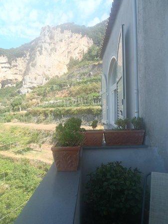 B&B Mamma Rosa Positano: View from Balcony