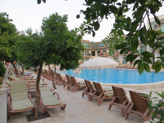 Batont Garden Resort Hotel : garden