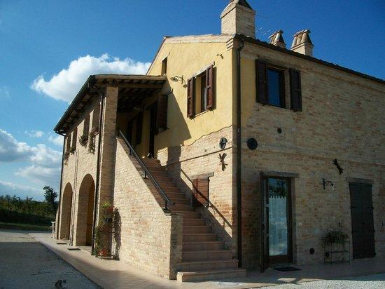 Agriturismo San Michele: l'edificio