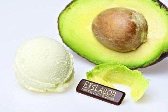 EisLabor: Avocado-Eis