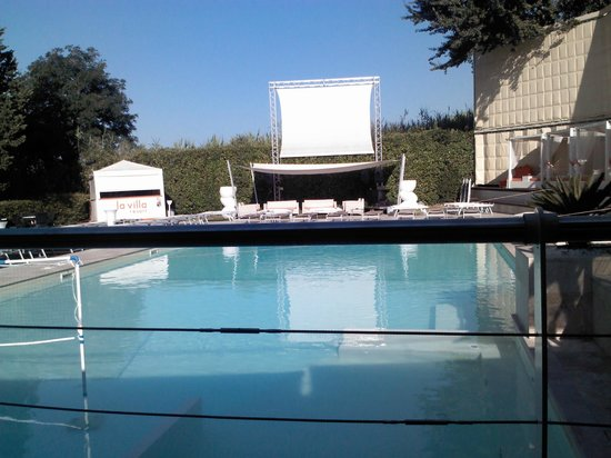 Hotel La Villa Resort: Terrazza su piscina
