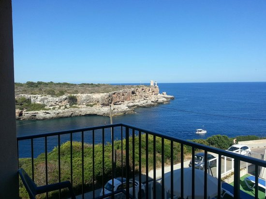 Hotel Rocamar: View from the balcony in the room