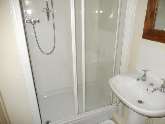 Munden House: Our shower room