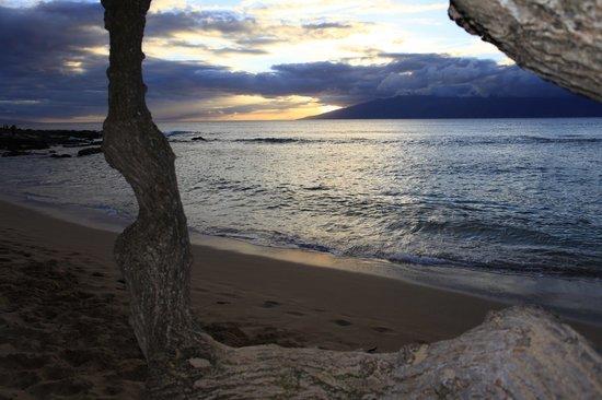 Napili Kai Beach Resort: Sunset at the beach - tunliweb.no