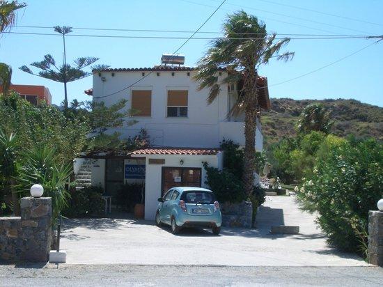 Hotel Irida Plakias: The front of the Irida...