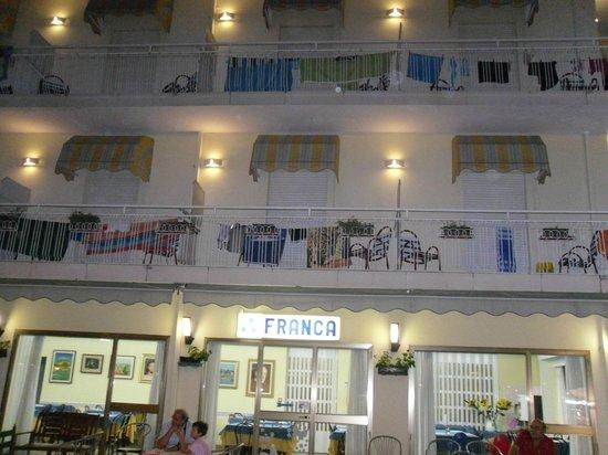 Franca hotel: veduta albergo