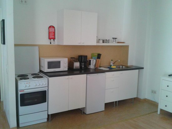 Old Town Apartments - Schoenhauser Allee: angolo cottura