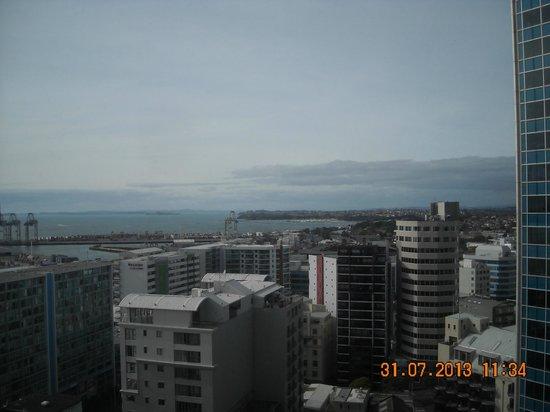 Auckland Harbour Oaks: Vista dalla mia stanza