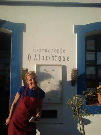 O Alambique: Owner, chef and restaurant manager Marlen Schmidt