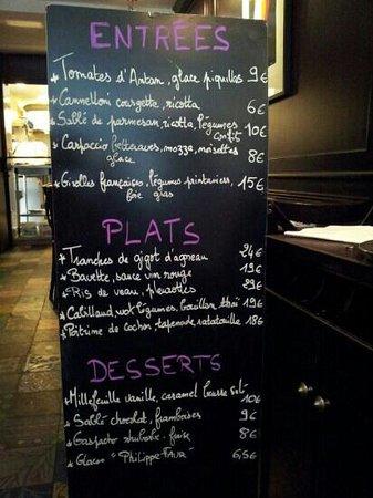 Pouic-Pouic : menu in mid July
