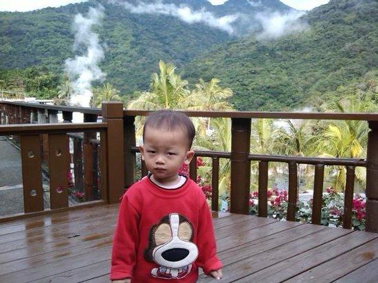 Ayawan Hot Spring Resort : 陽台照