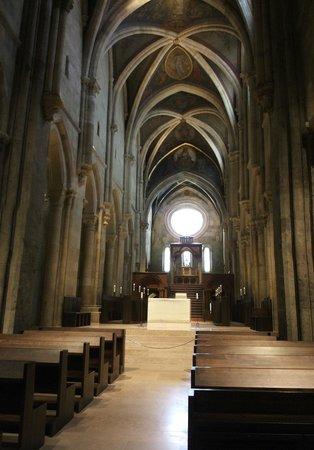 Pannonhalma Abbey : The church