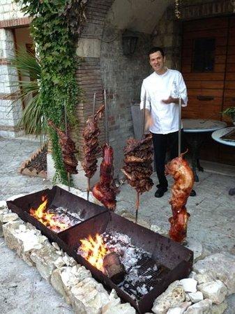 Hotel Fortino Napoleonico : lo chef Paolo Antinori