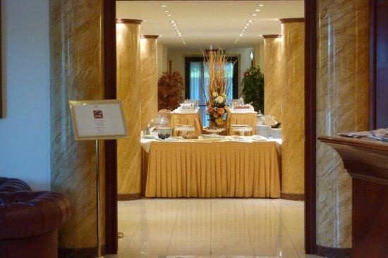 Grand Hotel Del Parco: Stanza colazione