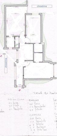 Casa Vacanze T&T: planimetria