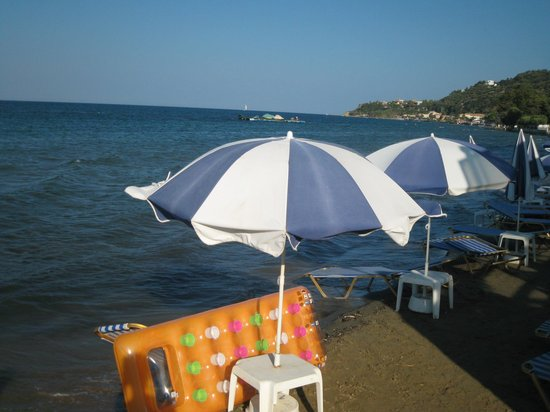 Hotel Admiral Argassi : Beach nearest to the hotel