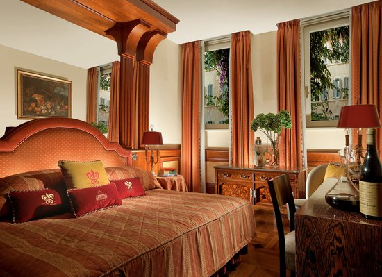 Hotel Raphael - Relais Chateaux: Deluxe Room