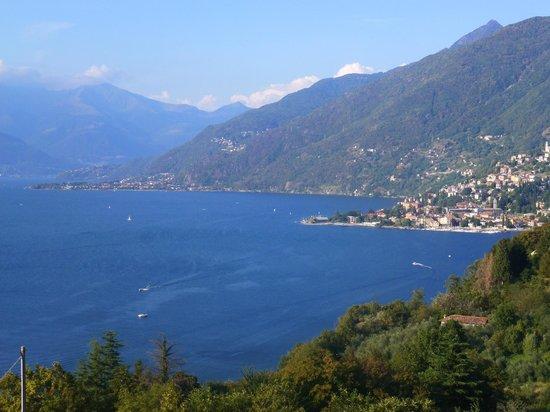 Crotto Di Gittana: Uitzicht vanuit onze kamer