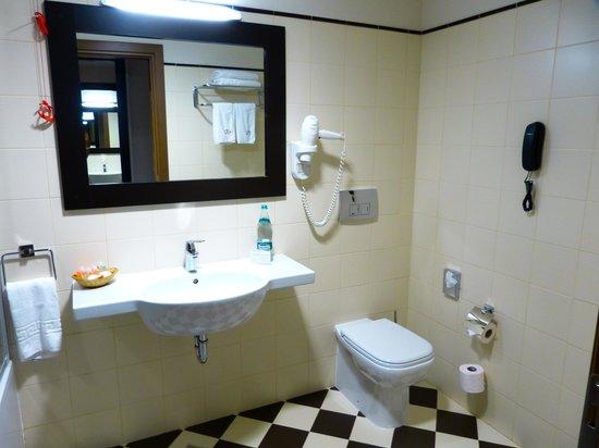 Europa Royale Bucharest: bathroom