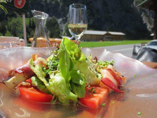 Alphorn Gasthof: Salat