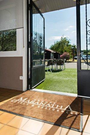 P'tit Déj-Hôtel Valence : Entrance