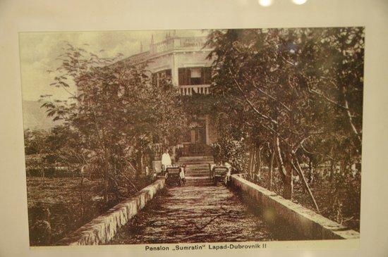 Hotel Sumratin: Blick zum Hotel ca 1900